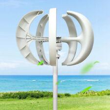 Vertikale Lantern Wind Turbine Windgenerator 600W 12V Überwachung Controller DHL