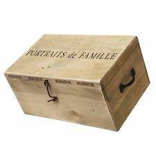 VINTAGE CHIC portaits de famille Boîte en bois
