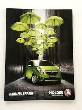 2016 Holden Barina Spark 16-page Australia Car Sales Brochure Catalog Chevrolet