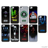 Star Wars Coque/Etui/Case Dur Plastique Apple iPhone 5c 5 5s SE 6 6S 7 8 Plus