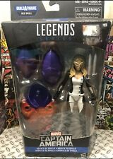 Marvel Legends Captain America Agents Of Shield Mockingbird Figure Red Skull BAF