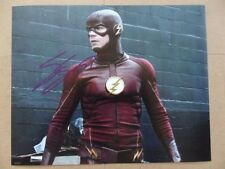 "Grant Gustin Signed //Autographed Photo ""The Flash"""