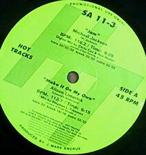 "MICHAEL JACKSON 12"" Jam HOT TRACKS Usa DJ Only Remix PS rare"