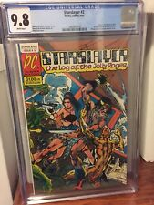 Starslayer #2 CGC 9.8 1st Appearance Of The ROCKETEER White Pages