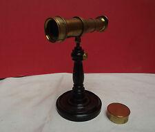 Telescope (Microscopio) Plossl? (Viena) Latón Lacado (C1810)
