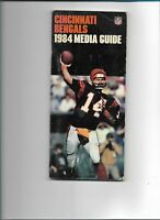 1984 CINCINNATI BENGALS FOOTBALL MEDIA GUIDE- FREE SHIPPING