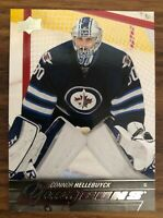 15-16 Upper Deck Connor Hellebuyck Young Guns #214 Rookie Card RC Jets