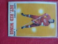 VINTAGE HOCKEY CARD O PEE CHE 1970-71 LARRY JEFFREY  DETROIT RED WINGS  EXC