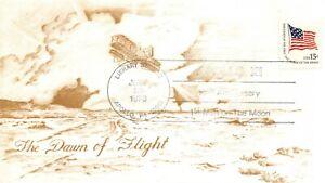 10th ANNIVERSARY APOLLO 11 DAWN OF FLIGHT APOLLO, PA. CACHET 7/20/79 -  SC# 1597