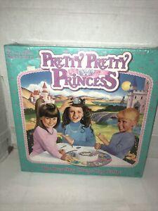 Pretty Pretty Princess Jewelry Dress Up Board Game - 1990 -  Sealed New