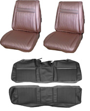 Plymouth Sport Fury Bucket Seat Covers and Rear Bench Set Hardtop 67 1967