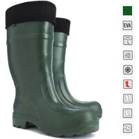 New! Thermal LIGHTWEIGHT EVA Wellies Wellingtons Boots -35C Hunting Voyager Rain