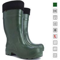 New Thermal LIGHTWEIGHT EVA Wellies Wellingtons Boots -35C Hunter Voyager Rain