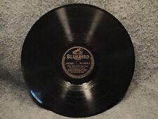 "78 RPM 10"" Record Russ Carlyle You Walk By & Its Eight O'Clock Bluebird B-10894"