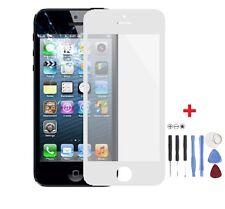 Front Scheibe für Apple iPhone 5, 5S Frontglas Display Weiß mit Werkzeug