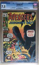 Avengers #90 CGC 7.5 July 1971 Kree Skrull War Capt. Marvel Thor Iron Man Ronan