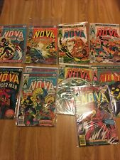 Nova lot 2 3 5 8 12 14 17 18 22 Spider-Man sandman 1976 (45years) Cgc It Invest
