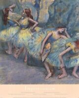 EDGAR DEGAS ~ BALLET DANCERS IN THE WINGS 24x30 FINE ART POSTER Print NEW/ROLLED