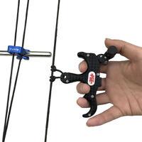 PSE Automatical Archery Compound Bow Release Aids Arrow 3 Finger Grip Caliper