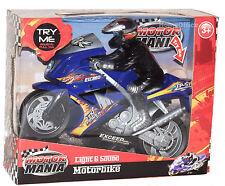 Motor Mania Motor Bike Light & Sound NEUF MOTO