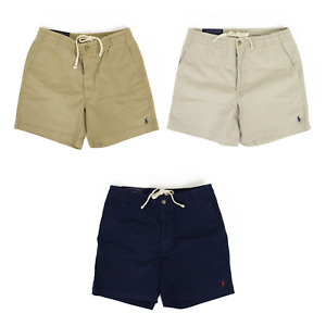 Polo Ralph Lauren Classic Fit Drawstring 6 Inch Chino Shorts -- 3 colors --