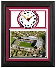 More details for football clock burnley clarets turf moor aerial photo