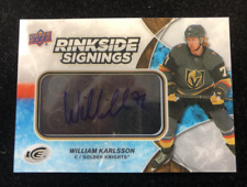 2018-19 Upper Deck Ice Rinkside Signings #RSWK William Karlsson C Auto - NM-MT