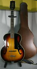 1960 Harmony H954 Broadway Archtop Acoustic Guitar Starburst