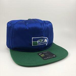 Nike Seattle Seahawks Satin Snapback Hat One Size (877060 417)