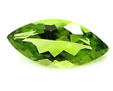 12mm x 6mm Natural Green Peridot  Marquise / Navette Cut Gem Gemstone