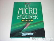 La Micro Enquirer ~ espectro ~ siglo comunicaciones ~ Zx Spectrum Libro De Tapa Dura