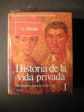 HISTORIA DE LA VIDA PRIVADA DEL IMPERIO ROMANO  History of the Roman Empire