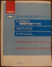 1990 Chevrolet Corsica Beretta Service Shop Manual 90 Chevy