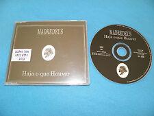 Madredeus - Haja O Que Houver - RARE IMPORT Israel Israeli Promo Sticker CD