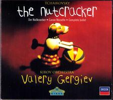 Valery GERGIEV TCHAIKOVSKY The Nutcracker Der Nussknacker Ballet GA KIROV CD NEU