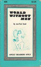 World Without Men - lesbian, flogging, bondage (Adult Readers Only)