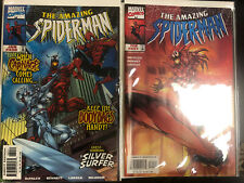 Amazing spiderman #430-431 (NM) Carnage Silver Surfer