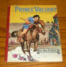 1954 Prince Valiant In The Days Of King Arthur, Hal Foster, Treasure Books # 874