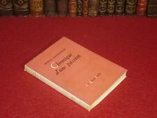 [Coll.BESNARDEAU] Marcel JOUHANDEAU Chronique d'une Passion 1949 Gay Interest