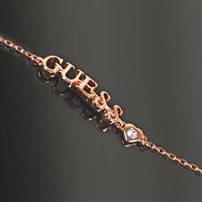 GUESS Armband Armkette Damen Armbänder LOVIN Messing Rosegold Zirkonia Schmuck