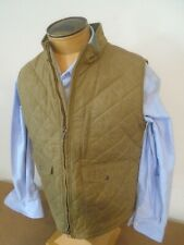 Filson Women's Cotton Quilted Mile Market Vest NWT XL Made in USA $225 Tan