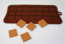 2.5cm Squares Pixels Tiles Mosaic Silicone Chocolate Mould Minecraft Cake Topper