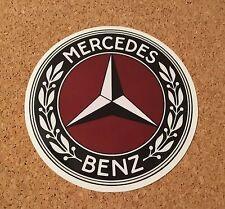 New Mercedes Benz Old School Car Vehicle Vinyl Sticker Decal Logo Unique