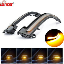 Dynamic Smoked Turn Signal LED Side Mirror Light For BMW 3 Series F30 F35 F80