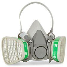 3M 6100 Half Face Respirator W/ 3M 6004 Ammonia/Methylamin Cartridge SMALL