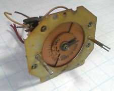 Vintage GE General Electric Stove IJ408W1N3 Clock Timer (FOR PARTS) 3AST4A2A