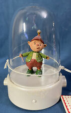 Hallmark 2008 ~ Happy Tappers ELF ~ Musical Dancing Motion Globe NEW WITH TAGS