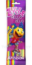 ZOZOLE Hello Zelo Rainbow Sour Sugar Coated Belts Ribbons Gummi Candy 75g 2.65oz