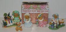 Cherished Teddies 2012 Club Members Figurines Lot of 5 Complete Set NEW Tisha