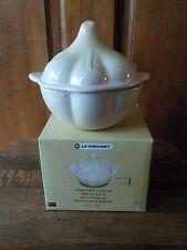Le Creuset Garlic (Dune) Petite Mini Cocotte Stoneware 10 oz New in Box